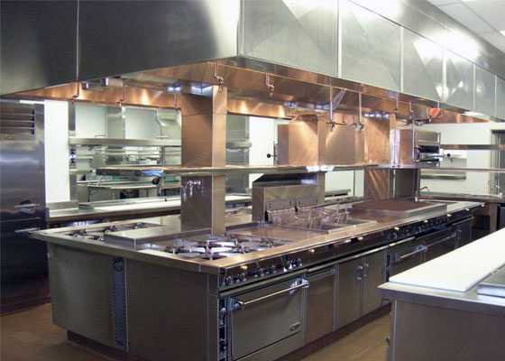 Restaurant Kitchen And Bar Design
