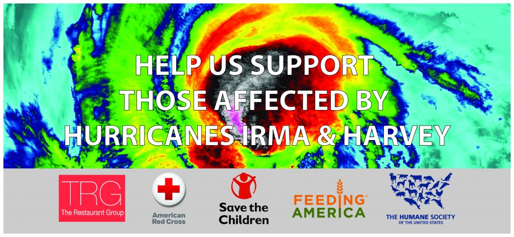 Hurricane Irma Harvey Restaurant Support