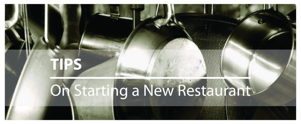 Starting a new restaurant